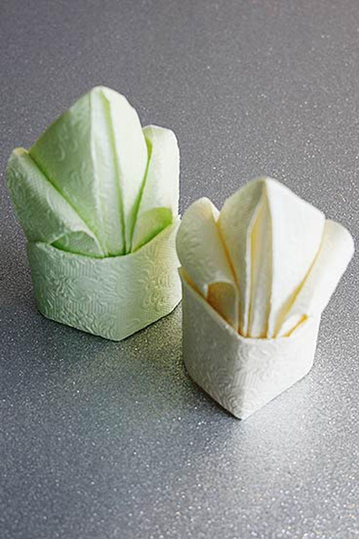 die besten 25 servietten falten einfach ideen auf pinterest servietten falten tafeldeko und. Black Bedroom Furniture Sets. Home Design Ideas