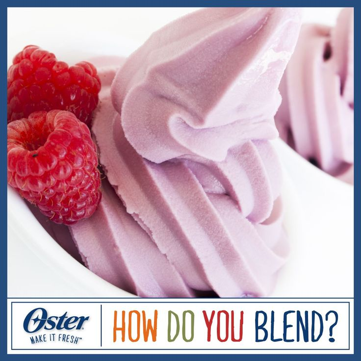 Looking for a sweet treat? Use your Oster® Blender to make Frozen Yogurt! Visit https://www.facebook.com/OsterBlending/app_600948003314659?ref=ts to pin this recipe (or other delicious recipes) for your chance to win an Oster® Versa® Performance Blender. Sweepstakes ends 4/10/15. #Oster #Blending #Blender #Sweepstakes #Recipe #Yogurt #Dessert #Treat #PinToWin [Promotional Pin]