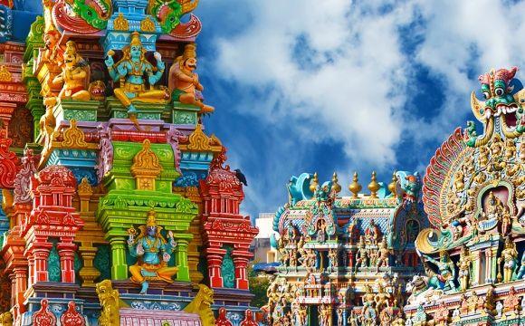 Top 10 des destinations les plus colorées du monde - TEMPLE DE MINAKSHI, Inde
