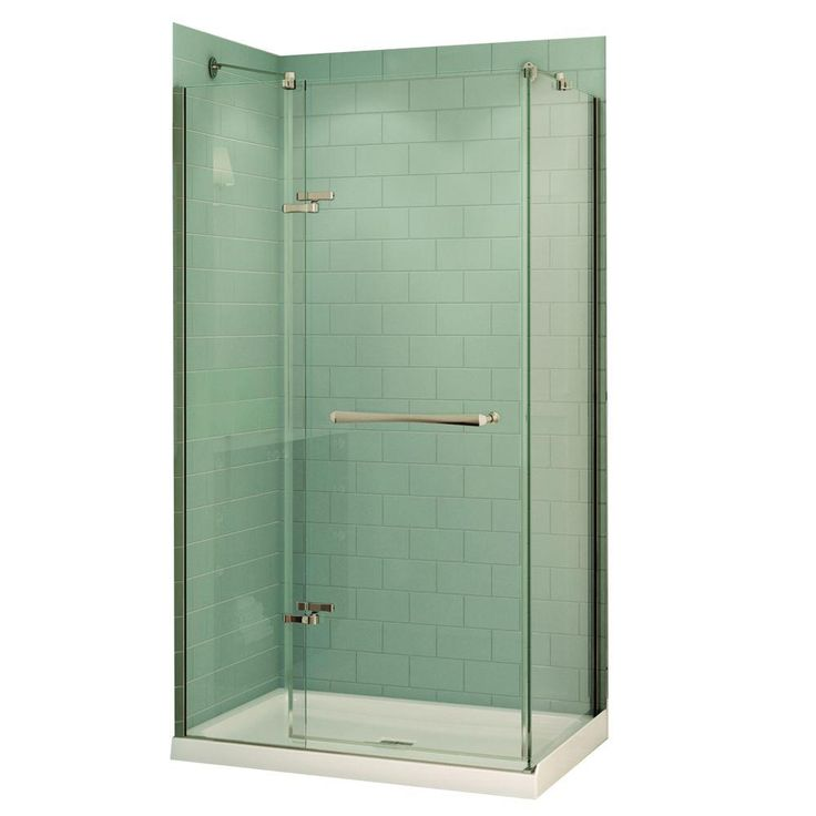 MAAX Reveal 32 In. X 48 In. X 74.5 In. Corner Shower Stall