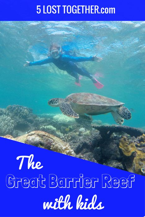 What to expect, advice and our experience visiting the Great Barrier Reef with kids.