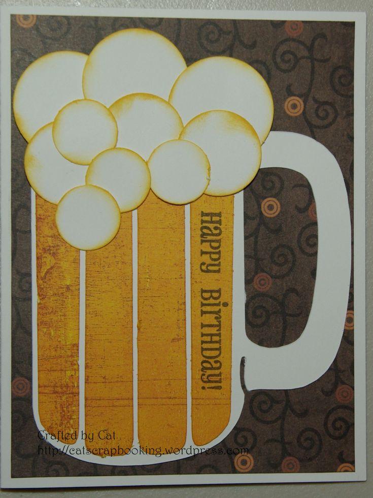 beer mug birthday card - Google Search