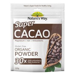 Buy Nature's Way Super Foods Cacao Powder 125 g Online | Priceline