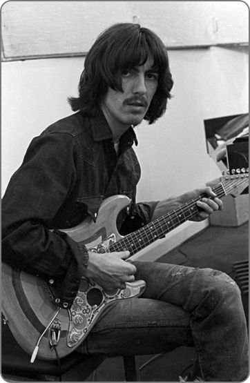 "George Harrison ""Let It Be"" sessions, January 1969 - The #Beatles via @SgtPepper1980"