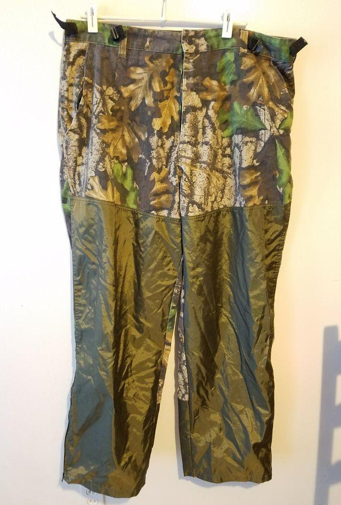 Camo print by big woods trebark. mens xl northwest territory camo pants. has brush gaurd. smoke free environment. | eBay!