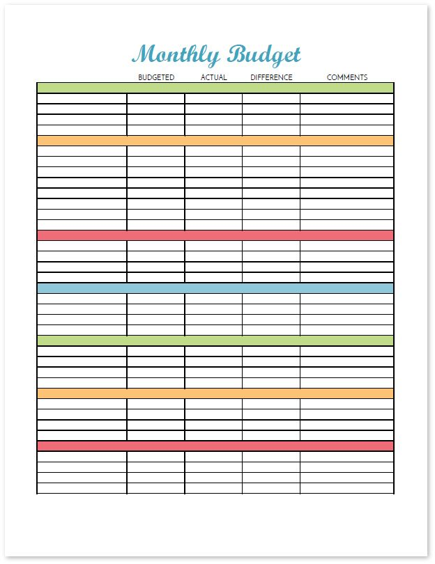 38 best Budget Worksheets images on Pinterest Money budget, Money - free download budget spreadsheet