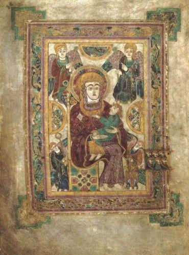 Vierge à l'enfant (Kells)