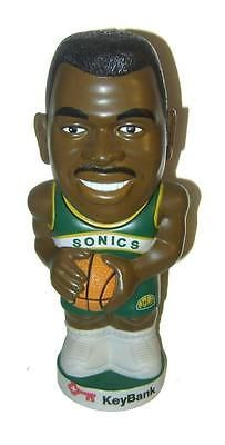 Vtg 2002 Seattle SONICS NATE MCMiLLan Key Bank Novelty Bank! New Old Stock! #5