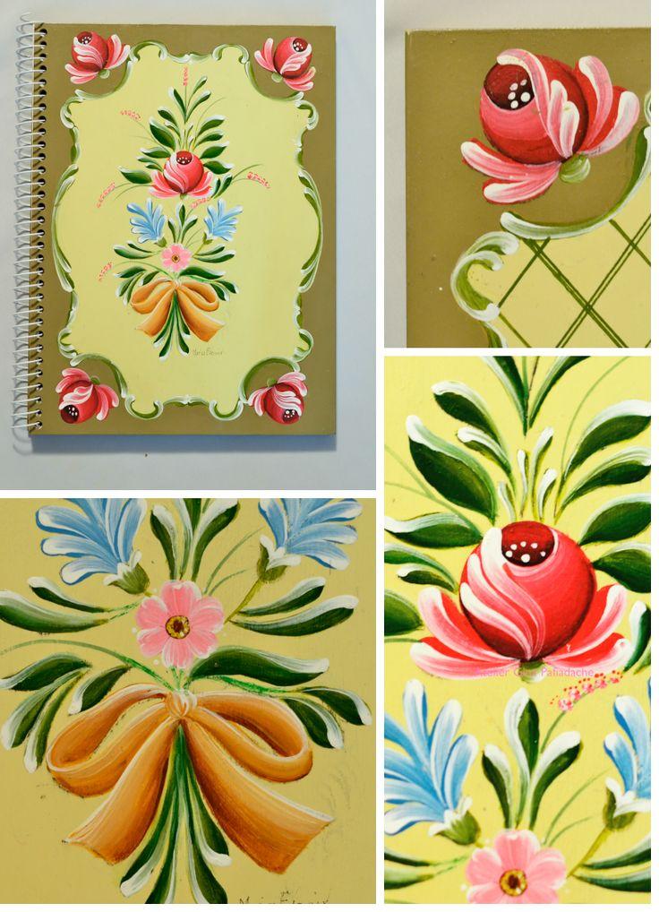 Atelier Gina Pafiadache: Cadernos em Bauernmalerei
