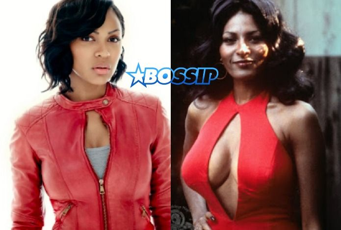 Meagan Good To Star As 'Foxy Brown' In New Hulu Series Reboot  Meagan Good Will Play Foxy Brown In New Hulu Series       Meagan Good  is about to be a foxy lady! According to  Deadline , the actress will be playing the iconic role of Foxy Brown in a new Hulu series reboot.    A cult movie title, the 1974 Foxy Brown, is headed to television a with a TV series adaptation starring Meagan Good in the iconic role. In a competitive situation, the project, executive produced by DeVon Frankl..
