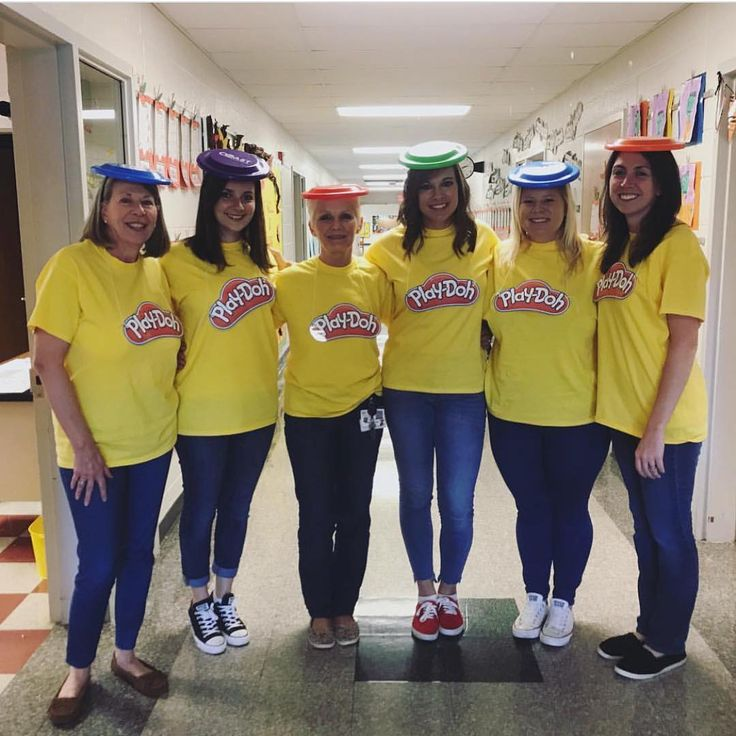 I can't wait to dress up with my team again this year! Last year's Play-Doh …