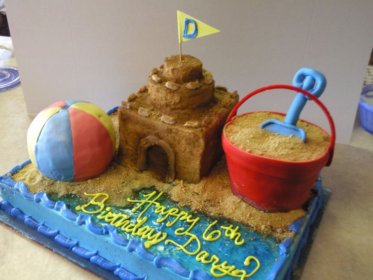 Best 25 Sand bucket cake ideas on Pinterest Beach theme