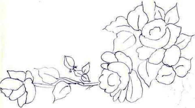 1000 ideas about flores para pintar on pinterest - Patrones para pintar en tela ...