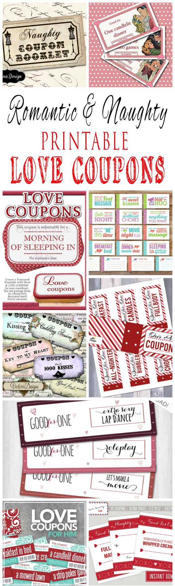 coupon book for boyfriend examples