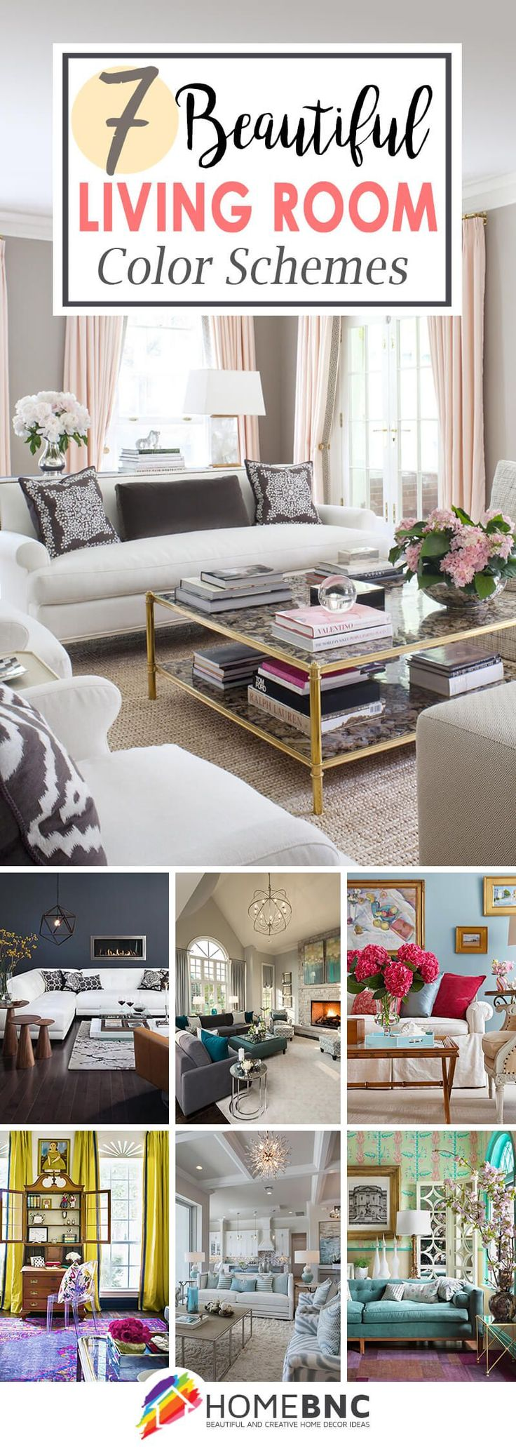 7 Best Living Room Color Scheme Ideas