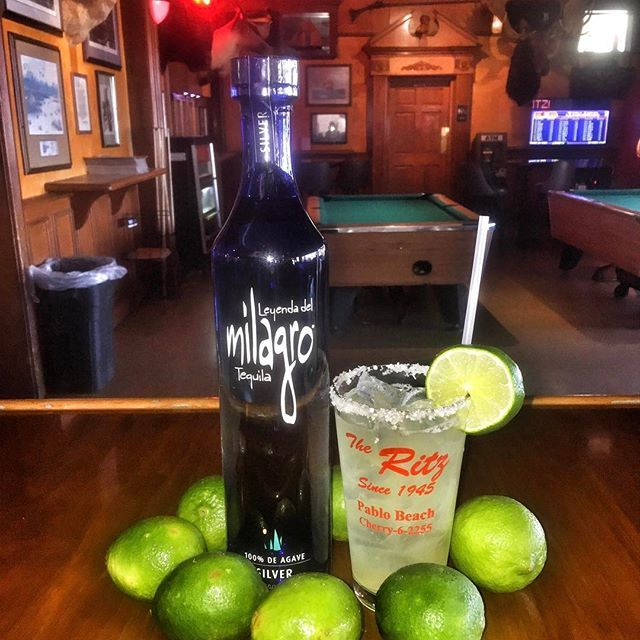 Now featuring @milagrotequila every Tuesday. Specials, open til 2am, include $2 Mexican Beers $3 Milagro Tequila shots $5 Milagro Margaritas  #tequilatuesday #tequila #margaritas #jaxbeach #904happyhour #theritz #touchtunestv