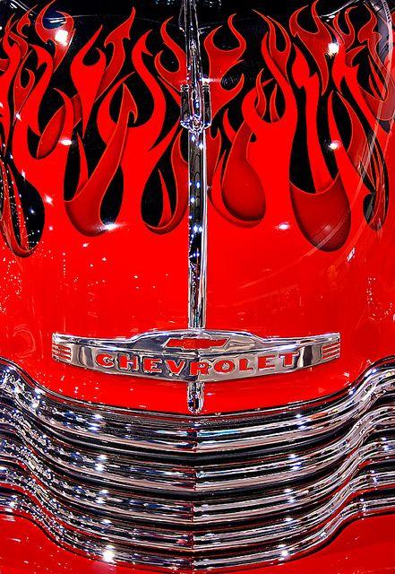 Chevy Devil Flames