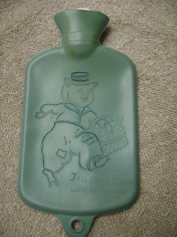 Rare Vintage Baby HOT WATER BOTTLE ... this is NOT rare, I bought one in the early 80s from a pharmacy