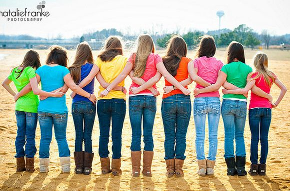 Cute Girls Weekend photo idea! I think we all need to pack some jeans this year. Let's start planning Ladies! @Sharon Cooper @Lesa Peers @Lori Potter @Morgan Potter @Alison Cooper @Stacie Cooper