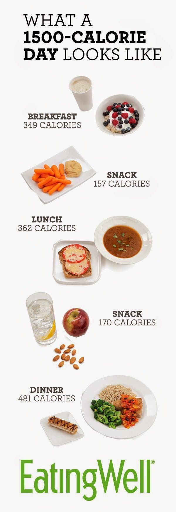 1500 calorie day