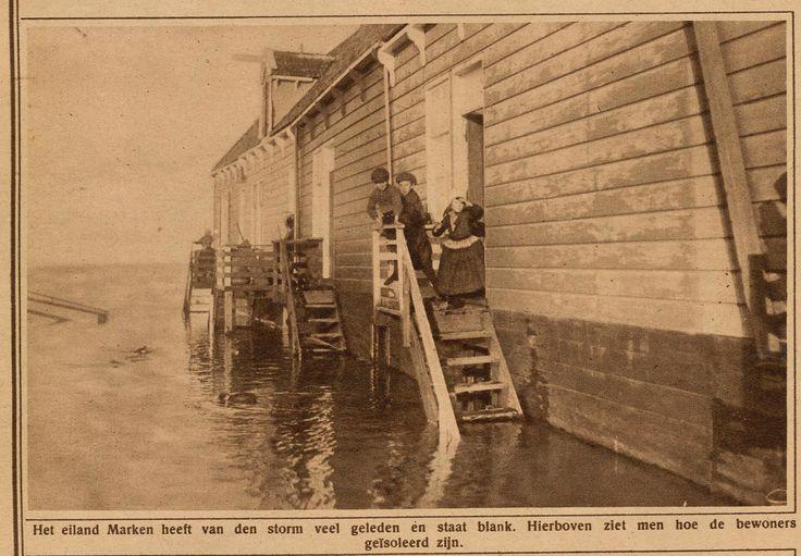 https://flic.kr/p/ecqLLG | Marken overstroming 1925