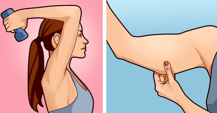 5 Exercises You Can Do Right At Home To Say Goodbye To Flabby Arms