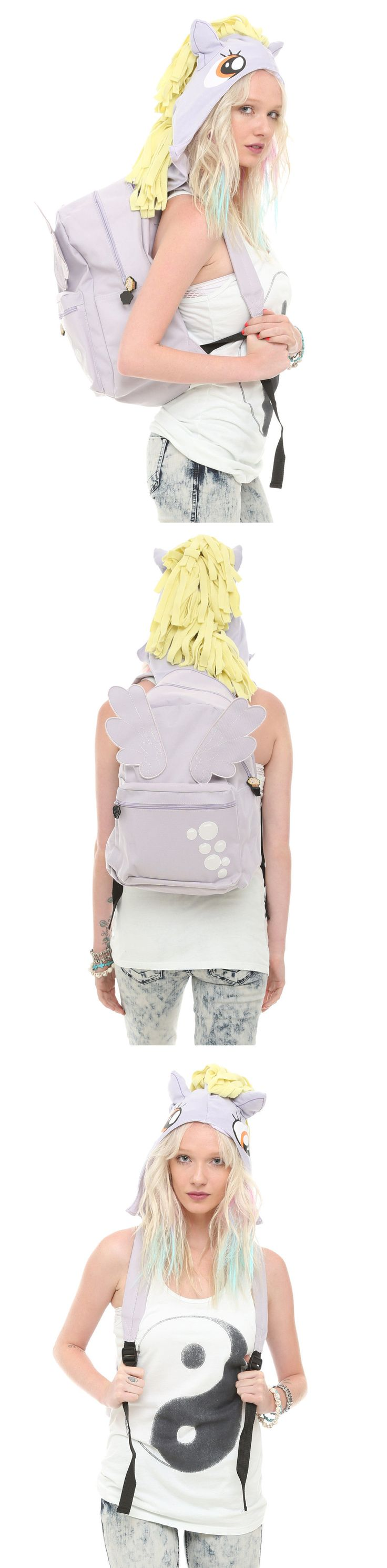 1990-Now 47228: My Little Pony Muffins Derpy Hooves Hooded Hoodie Mane Backpack Bronies Gift New -> BUY IT NOW ONLY: $37.5 on eBay!