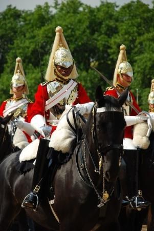 Horse Guards on Parade at St James' Park