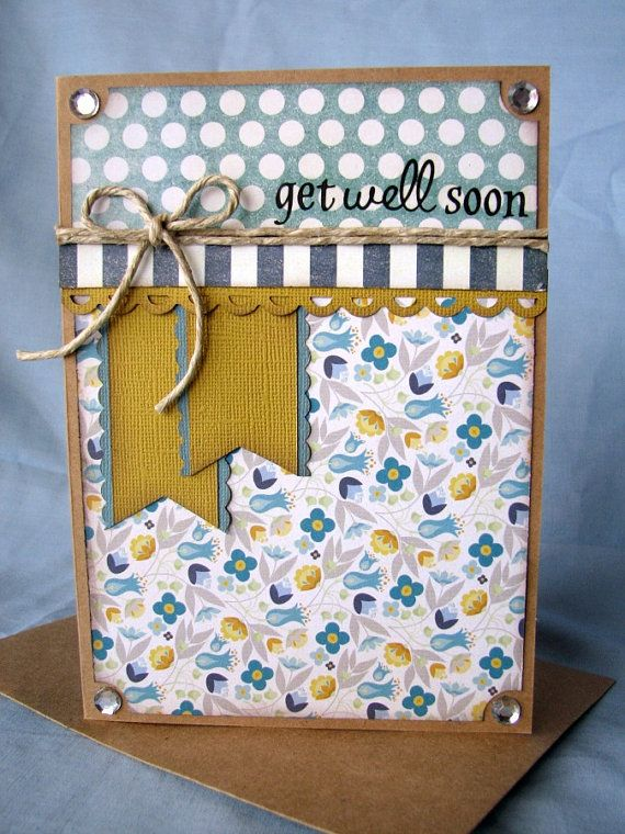 Get Well Card Feel Better Card Sorry by SpeciallyMadeDesigns