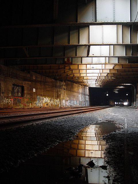 tunnel.