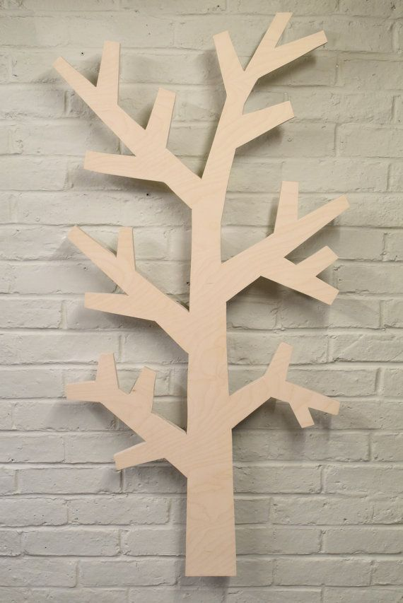 Floating Tree Wall Hanging by Woodpecked on Etsy
