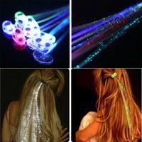 10 sztuk Kolorowe Lampy LED Braid Serpentynę Nietuzinkowe Dekoracje Świąteczne Dostawy Do Tańca Christmas Party