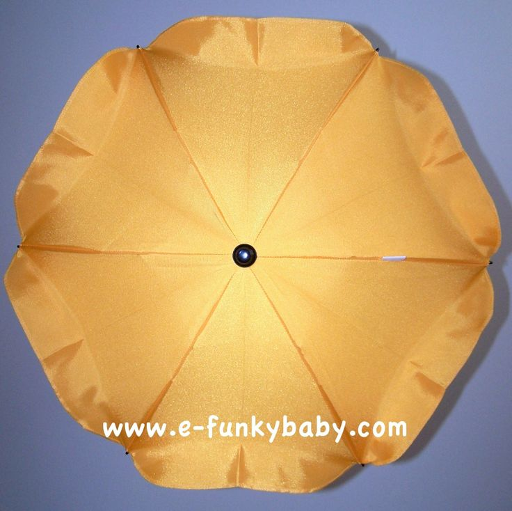 Ombrelle universelle pour poussette - jaune - www.e-FunkyBaby.fr #efunkybabyfr #ombrelle #jaune