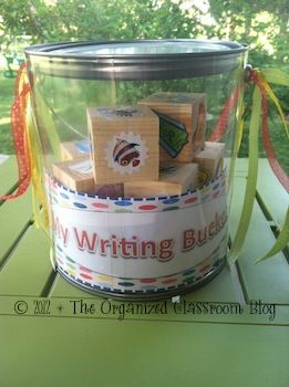 Block Learning DIY Style! - The Organized Classroom BlogWood Block, Writing Center