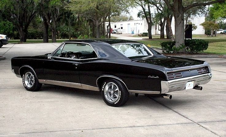 prova275:  The Great One… 1967 GTO 400 hardtop in Starlight Black