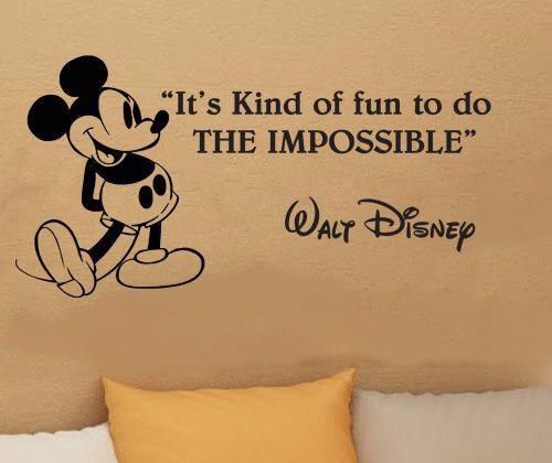 Love this walt Disney quote