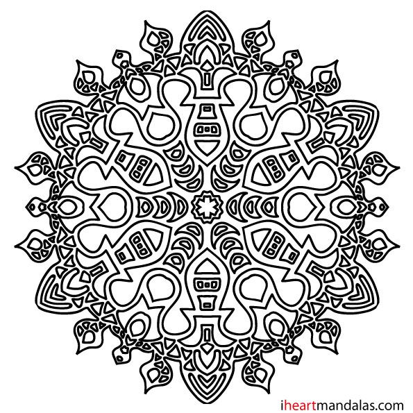 mandala coloring pages as therapy - photo#23