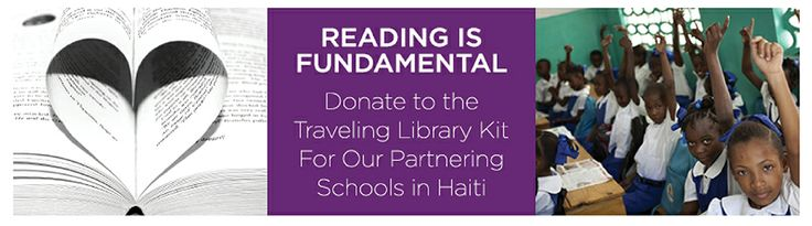 Help us provide Library Kits to kids in #Haiti. To donate: http://bit.ly/OrbXxe  #education #fleurdevie #FDVLibrarykits
