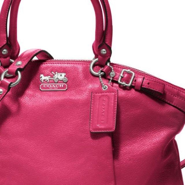 Coach purse in pink