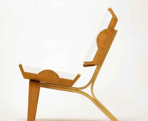 Lovely Modern Stylish Aesthetically Brilliant Chair Made Of Bent Plywood And  Leather Design Good Ideas