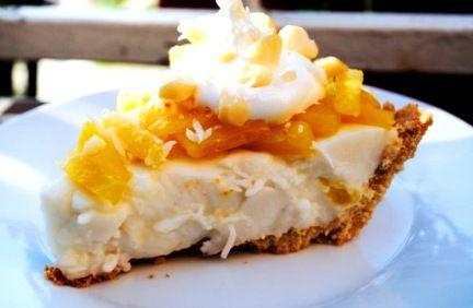 Pineapple Haupia Pie