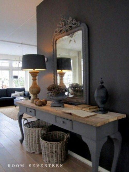 25 beste idee n over grote entree op pinterest grote trap thuis ingangen en entree foyer - Deco entreehal ...