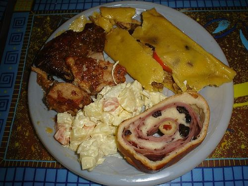 Plato navideño... exquisités de mi tierra. Comidas típicas de Venezuela