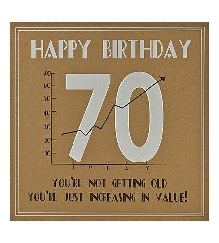 70th birthday cards men - Google Search