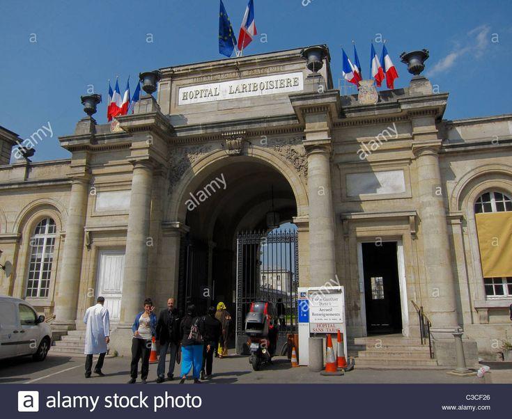 "Paris, France, ""Hopital Lariboisiere"", French Public Hospital Stock Photo"