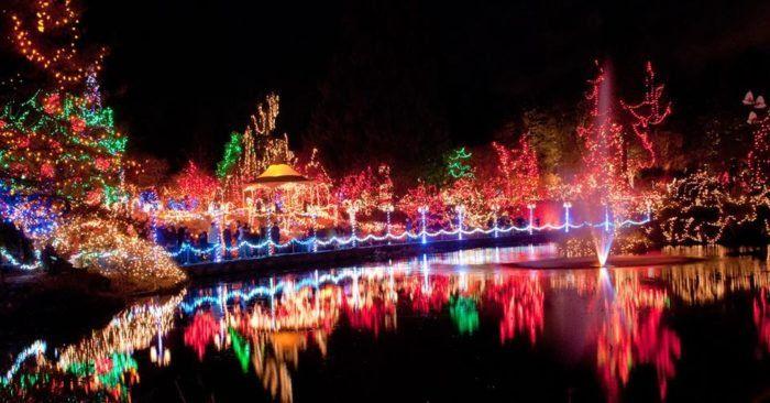 Hidden Lake Gardens Festival Of Lights