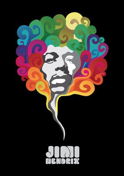 Jimi Hendrix by Cedric S Touati