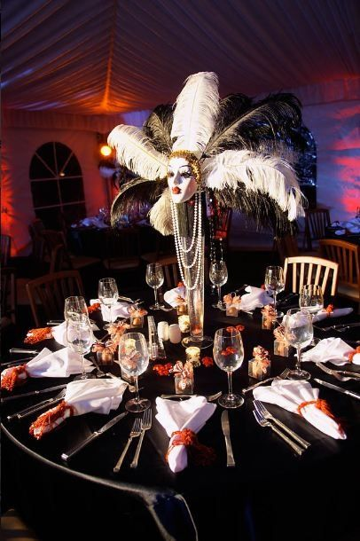 Foto Of Masquerade Quality Ball Table Decorations More
