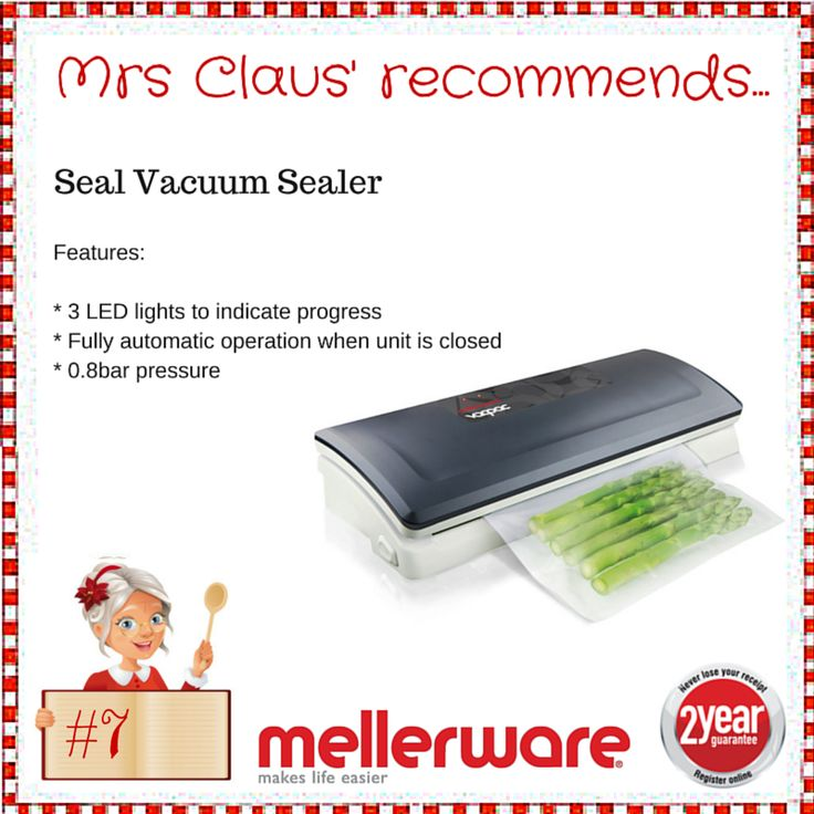 Day 7 - Seal Vacuum Sealer