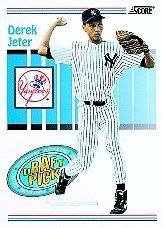 1993 Score Derek Jeter Baseball Rookie Card In Protective Display Case  http://allstarsportsfan.com/product/1993-score-derek-jeter-baseball-rookie-card-in-protective-display-case/  This is just one of 1000s of great sportscard items we are offering here on Amazon!! Satisfaction Guaranteed Or You Can Return For A Full Refund!